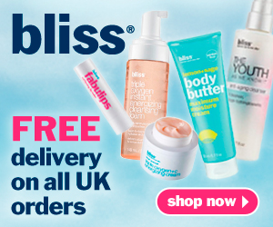 Get free delivery on all UK orders at Bliss.co.uk.